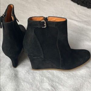 New Lanvin wedge booties
